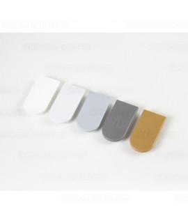 Tapas de plástico Blanco Señal RAL 9003 ,100 uni.