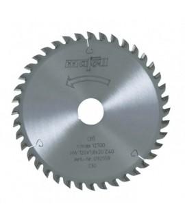 Hoja de sierra de HM 120 x 1,2/1,8 x 20 mm, Z40, F