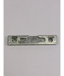 cerradero oscilo horizontal de seguridad para Aire 4 para atornillado inclinado DCHA plata