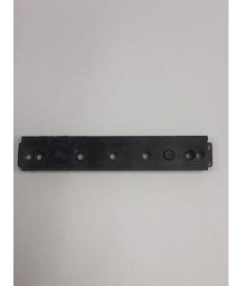calce con frontal para Desp.1 mm 15.9mm para bisagra angular APOY-DTuni S-11,2mm negro