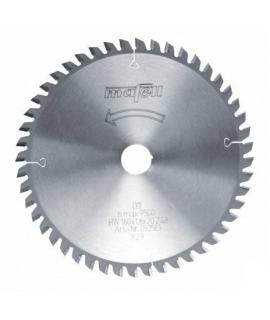Hoja de sierra para cortes finos HM 160 x 1,8 x 20 mm, Z 48, FZ/TZ