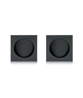 Hooky- Kit Cazoletas Cuadrado R/Ks023 K27 A-Blk Negro Mate