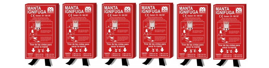 MANTAS IGNIFUGAS